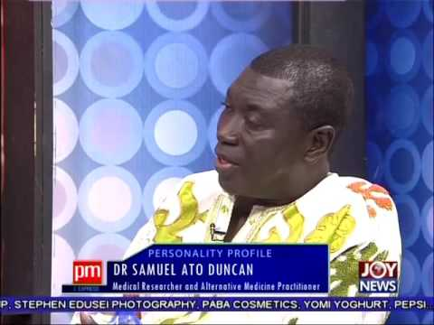 Dr. Samuel Ato Duncan - Personality Profile on Joy News (25-6-16)