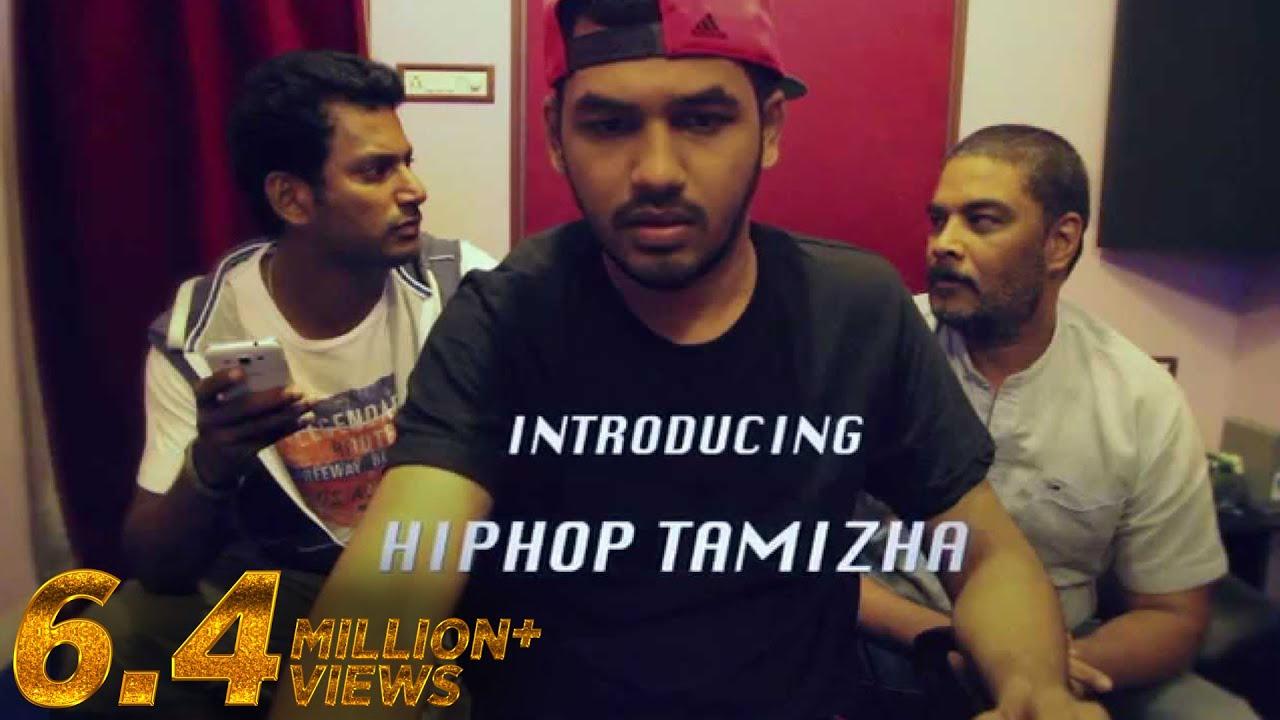 Introducing Hiphop Tamizha Aambala Single Teaser Youtube