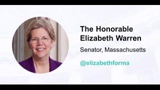 Elizabeth Warren | Opening Keynote Address