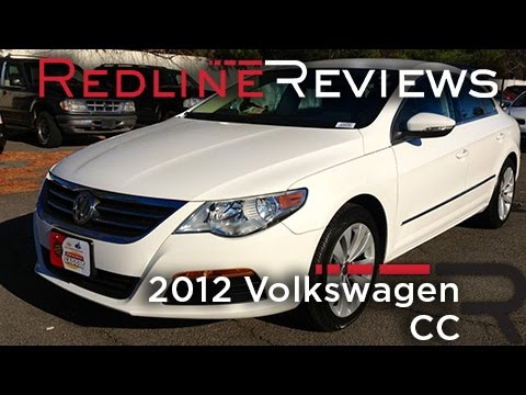 2012 Volkswagen CC Review, Walkaround, Exhaust, Test Drive