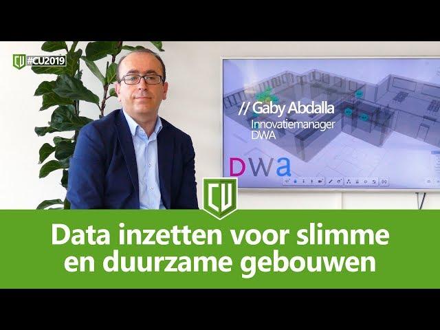 Data inzetten voor slimme en duurzame gebouwen | #CU2019