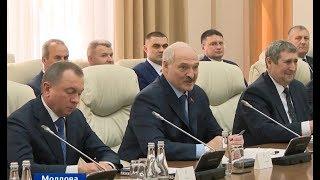 Завершился официальный визит Главы белорусского государства в Молдову. Панорама