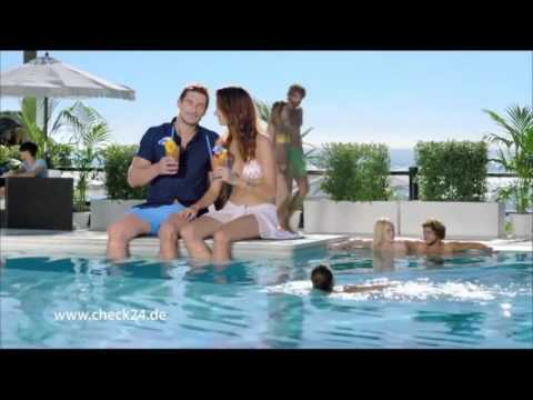 Neue Check 24 Werbung 2016   YouTube 720p