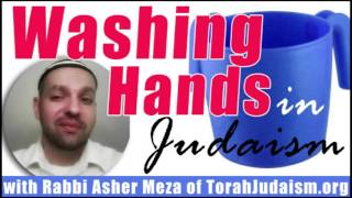 Washing Hands in Judaism