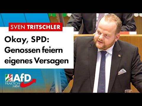 SPD feiert ihr eigenes Versagen! – Sven Tritschler (AfD)