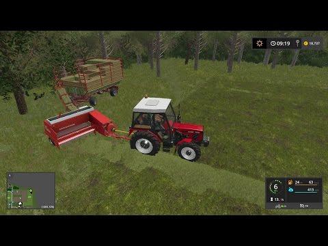Welger baler with trailer | Small equipment | Farming Simulator 2017 | Episode 29