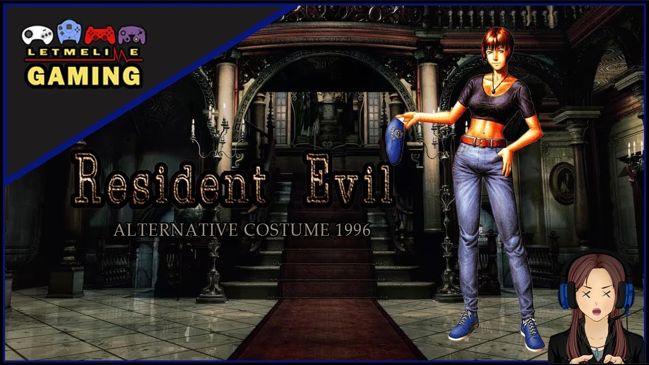 Resident Evil 1 Remaster Jill Valentine Alternative Costume From Re1 1996 Mod