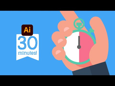 Getting started with Adobe Illustrator CC. - Crash Course Tutorial -