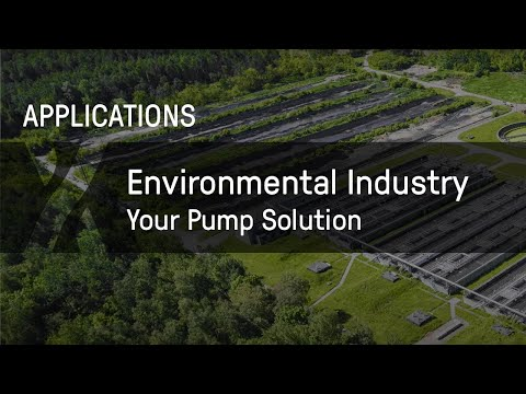 SEEPEX: Your Pump Solution for the Environmental Industry