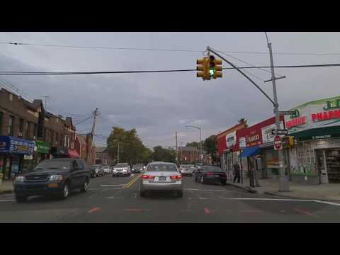 Driving from Kew Gardens to Maspeth in Queens,New York