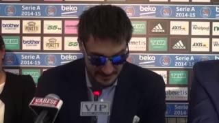 Conferenza stampa Gianmarco Pozzecco