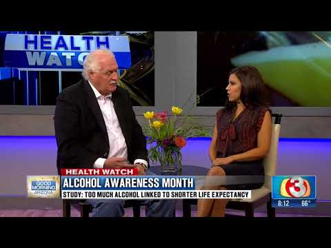 April is Alcohol Awareness Month - Americas Rehab Campuses on Good Morning Arizona