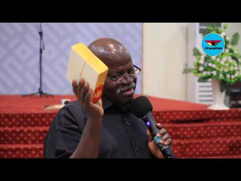 Opanin Kwadwo Kyere's full presentation at marriage seminar