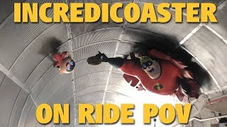 Incredicoaster 4K POV | Pixar Pier | Disney California Adventure