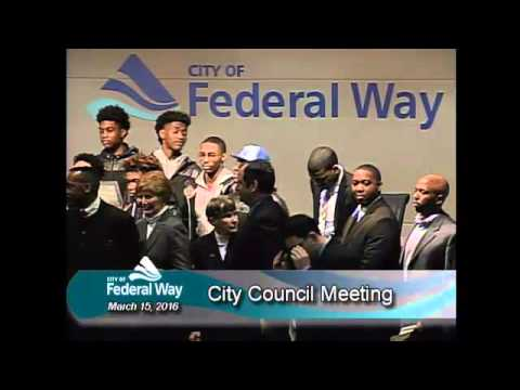 03/15/2016 Federal Way City Council