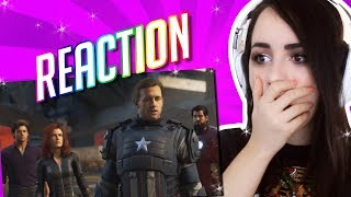 Marvel's Avengers: A-Day | Official Trailer E3 2019 REACTION!!!