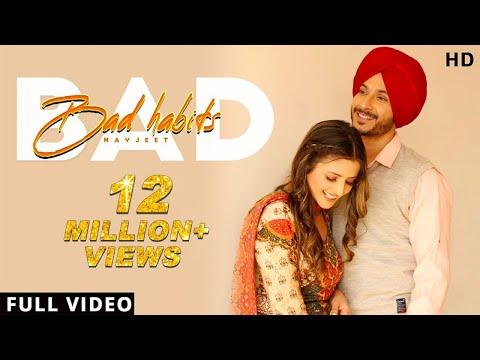 Bad Habits - Navjeet (Official Video) Rehmat Rattan | Jaymeet | Latest Punjabi Pop Song 2020