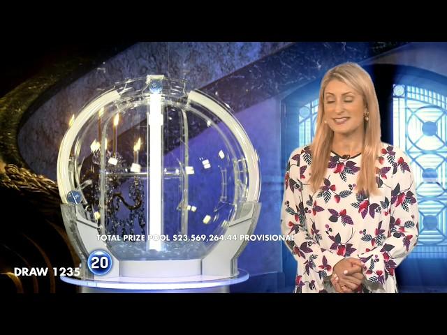 Powerball Results Draw 1235 | Thursday, 16 January 2020 | the Lott