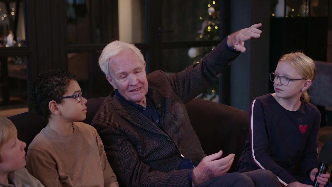 Kinderen Interviewen Jan Terlouw Over Oorlogswinter Vriendschap En Het Klimaat
