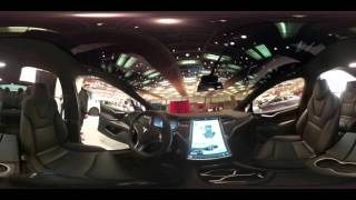 360: Immersive view of Tesla's Model X SUV