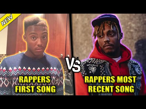 RAPPERS FIRST SONG VS RAPPERS MOST RECENT SONG 2021