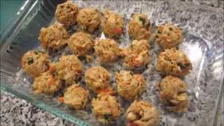 "Cooking w/ GradysMom13: Crab ""meatballs"" Perfect Holiday Appetizer Thumbnail"
