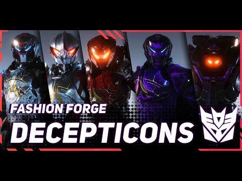 FASHION FORGE \\ Transformers Starscream - Soundwave - Shockwave & Knockout Customizations