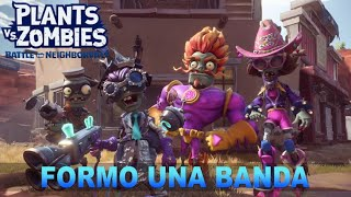¡FORMO UNA BANDA! - Plants vs Zombies: Battle for Neighborville