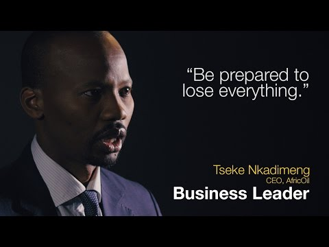 Business Leadership: Be prepared to lose everything