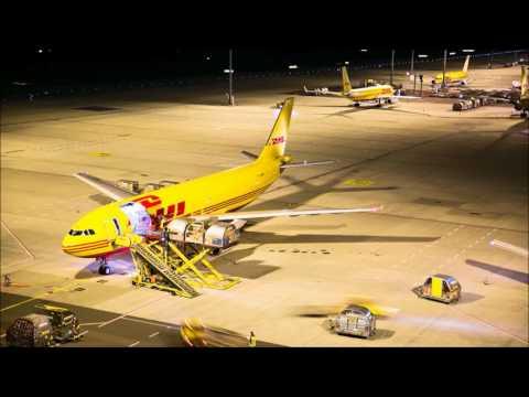 DHL Express - Leipzig Hub Timelapse