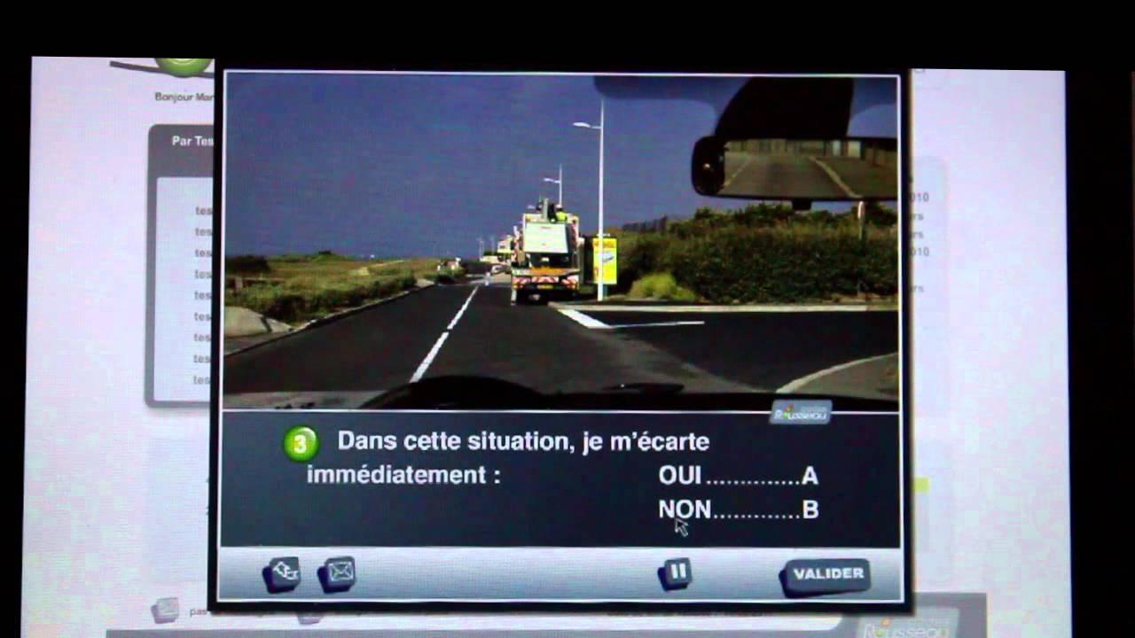 code de la route en ligne youtube