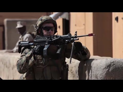 MCCDC Finance Marines combat training in Quantico