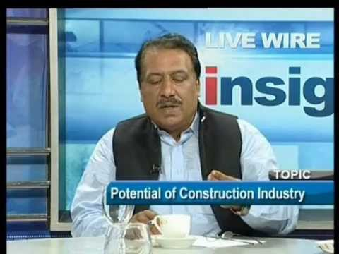 TARIQUE KHAN JAVED DISCUSSING POTENTIAL OF Construction Industry of Pakistan