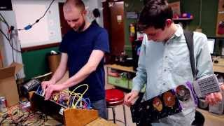 Recycled Hard Drive Instrument - Electric Waste Orchestra