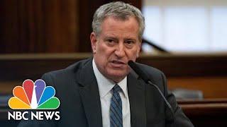 NYC Mayor Bill De Blasio Holds Coronavirus Briefing - May 31 | NBC News