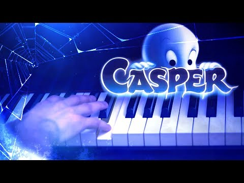 Casper's Lullaby - One Last Wish (Piano Cover played with GHOST HANDS) [Movie Soundtrack, Sad OST]