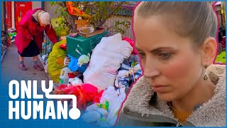 Before and after Extreme Hoarding | Jasmine Harman's Extreme Hoarders | Only Human