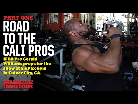 Gerald Williams' Road to the Cali Pro