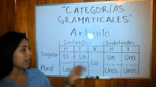 categorías gramaticales part 1