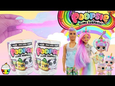 Poopsie Slime Surprise DIY Slime Just Add Water With LOL Unicorn Family