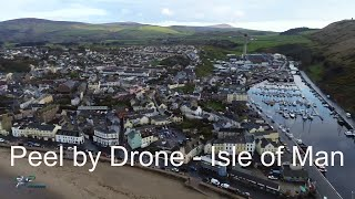 Peel by Drone - Isle of Man
