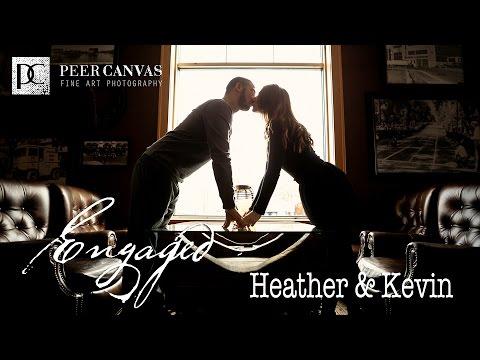 Heather + Kevin | Beloit Ironworks Engagement by Peer Canvas Rockford Wedding Photographer