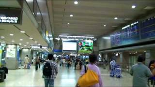 Narita international airport, Terminal 2, Arrivals lobby