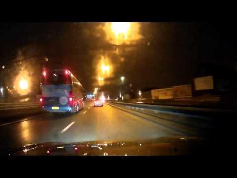 G1W Dash Cam First Test @ Night (Honda S2000)