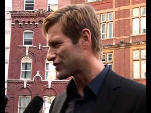 The Dark Knight European premiere - Aaron Eckhart interview