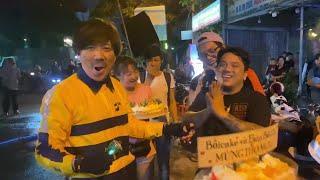 Trấn Thành và Tuấn Trần bất ngờ chúc mừng sinh nhật Mr. TÔ - đạo diễn series phim BỐ GIÀ.