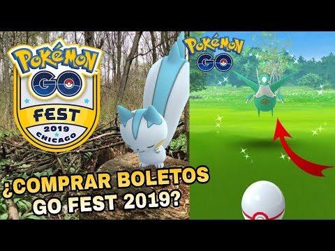 ¡COMO COMPRAR BOLETOS PARA EL POKEMON GO FEST 2019! ¡TIPS PARA CAPTURAR A LATIOS FÁCILMENTE! thumbnail