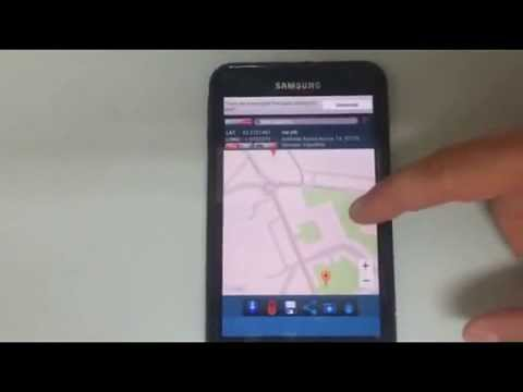 Latitude and Longitude GPS coordinates for Android