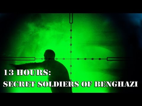 On The Set Of '13 Hours: The Secret Soldiers Of Benghazi'