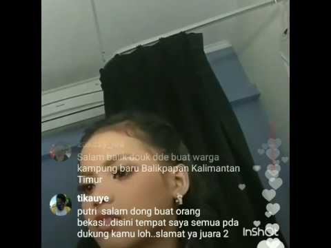 Putri DA4 Live IG nyanyi lagu Weni - Engkaulah Takdirku (Cover)